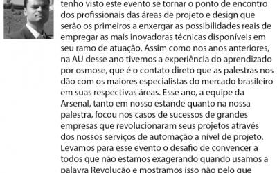 Magazine MundoGEO publishes Vitor Silva opinion on AU2016