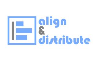 Alinhar e Distribuir